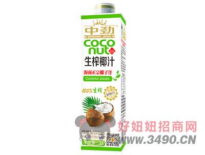 中劲生榨椰汁海南正宗椰子汁1L