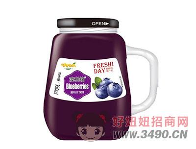 澳利缘蓝莓汁350ml