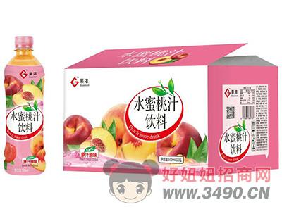 果浓水蜜桃汁饮料500ml×15瓶