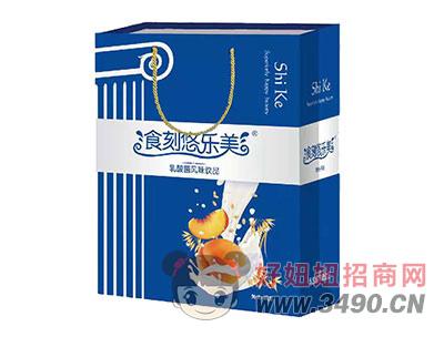 食刻悠乐美黄桃+燕麦乳酸菌风味饮品340mlx8瓶礼盒