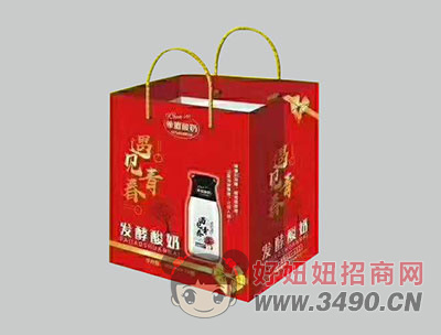 希�D酸奶�l酵型�Y盒300mlx12瓶