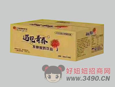 希�D酸奶�l酵型箱�b300mlx24瓶