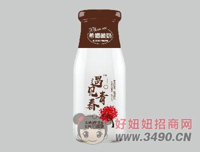 希�D酸奶�l酵型300ml炭��味
