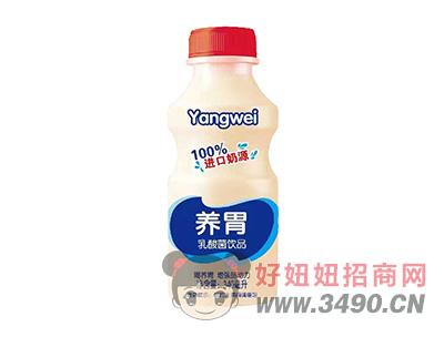 100%进口奶源养胃乳酸菌饮品340ml