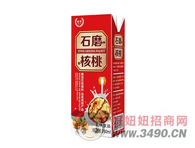 石磨核桃乳味�品250ml