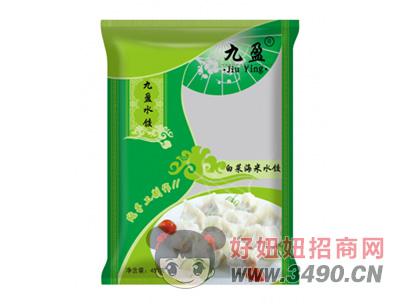 九盈纯手工制作白菜海米水饺
