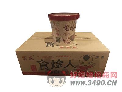 富龙食烩人正宗酸辣粉1X6桶(箱)