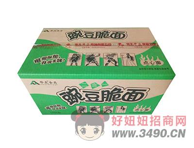 华众食品豌豆脆面点心面50包(箱)