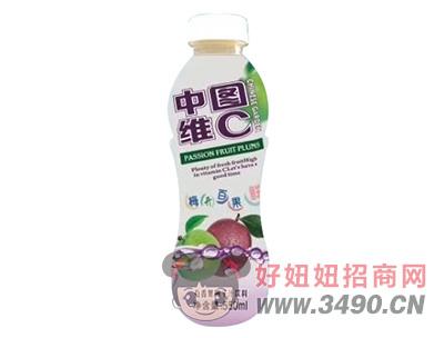 中国维C百香果梅子汁饮料550ml