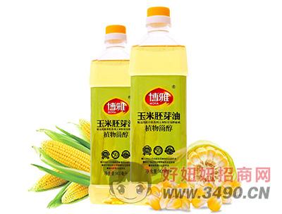 博雅玉米胚芽油900ML