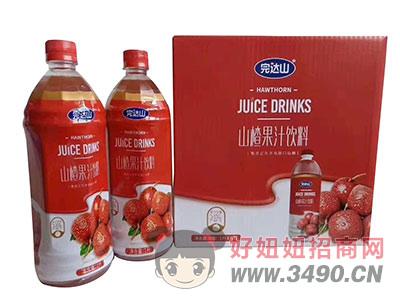 完达山山楂果汁饮料1lx6瓶