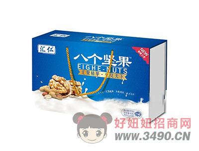 汇仁八个坚果复合蛋白饮品木盒