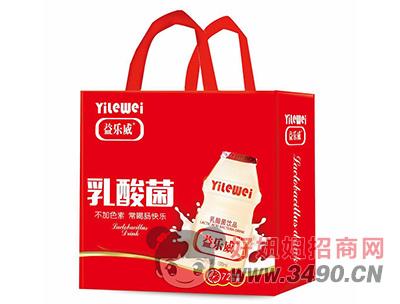 益乐威乳酸菌饮品手提袋