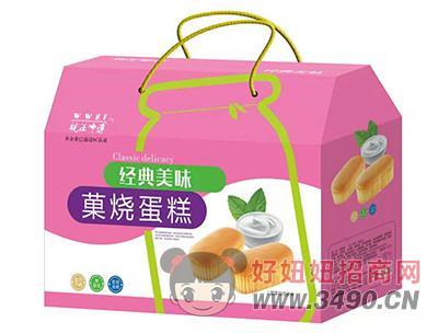 皖汪师傅�烧蛋糕礼盒