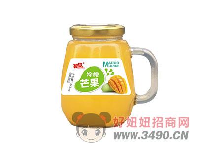 好梦冷榨芒果果汁饮料345ml