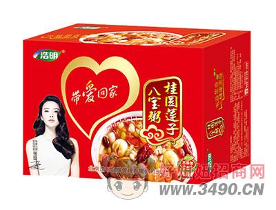 浩明桂圆莲子八宝粥1x12罐