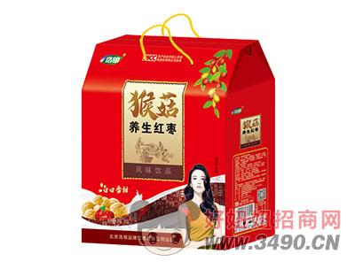 浩明猴菇养生红枣风味饮品1x5x12盒