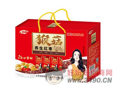 浩明猴菇养生红枣风味饮品1x5x12盒礼盒