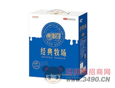 浩明经典牧场风味饮品1x6x12盒礼盒