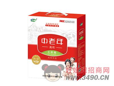 浩明中老年高钙风味饮品1x6x12盒礼盒