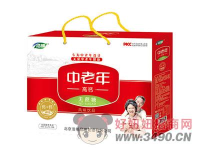 浩明中老年高钙奶1x6x12盒