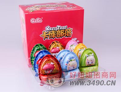 卡库部落拾趣蛋带玩具盒装