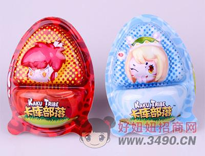 卡库部落拾趣蛋带玩具(红、蓝)