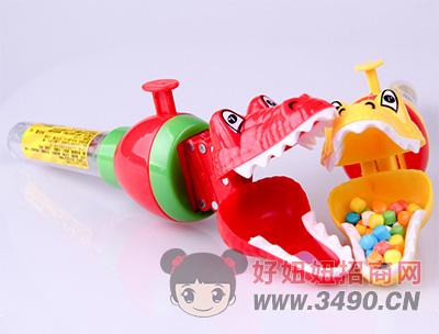 卡库部落鳄鱼钳(带玩具)糖果