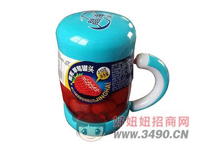 晶海草莓罐头419克