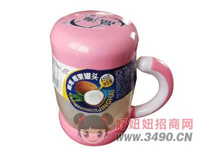 晶海椰果罐头419克