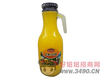 富贵满堂生榨芒果汁饮料1.5L