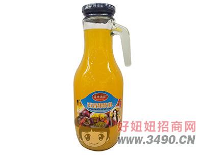 富贵满堂生榨百香果汁饮料1.5L