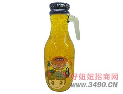 富贵满堂果粒爽饮料1.5L