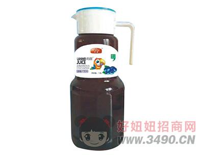 雨露蓝莓汁饮料1.5L
