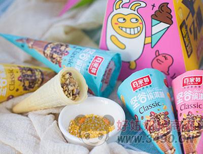 百家赞坚谷缤淇淋多种口味装