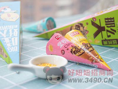 百家赞坚谷缤淇淋两种口味