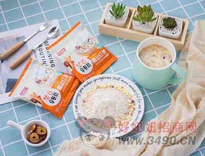 百家赞坚谷早餐奶椰丝红枣椰奶风味定量装实物图
