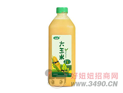 燕塞关大玉米谷物饮料1.25L