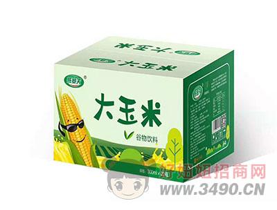 燕塞关大玉米谷物饮料300mlX20瓶