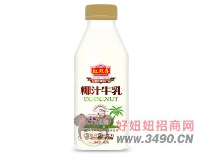 红双喜椰汁牛乳480ml