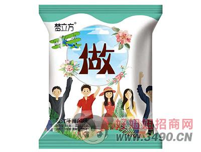 梦立方蜜汁牛排风味方便面55g(做)