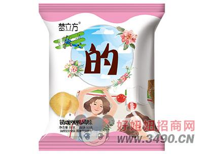 梦立方销魂嘿鸭风味方便面55g(的)