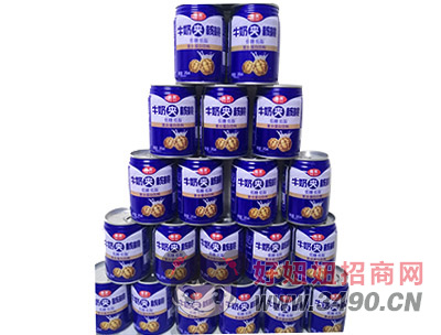 椰栗牛奶夹核桃低糖低脂复合蛋白饮料245ml