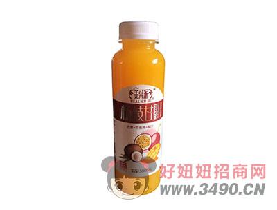 美果派芒果+百香果+椰汁50%果汁含量380毫升杨枝甘露