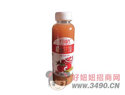 美果派山楂+杨梅+石榴50%果汁含量380毫升杨枝甘露
