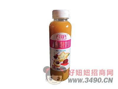 美果派樱桃+黄桃+杨桃50%果汁含量380毫升杨枝甘露