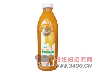 果U鲜80%果汁含量1118毫升大瓶装