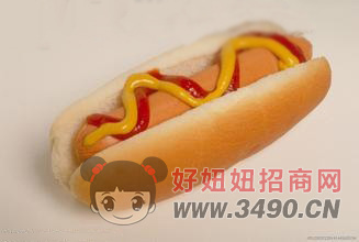 冷冻预烤热狗