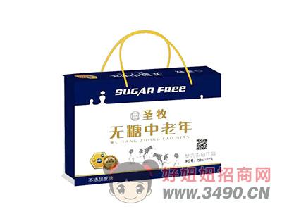 无糖型中老年复合蛋白饮品250mlX12盒