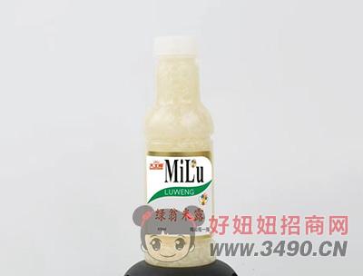 绿翁米露430ml